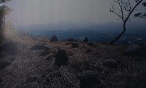 Stone circle at the top of Mt Komekamiyama
