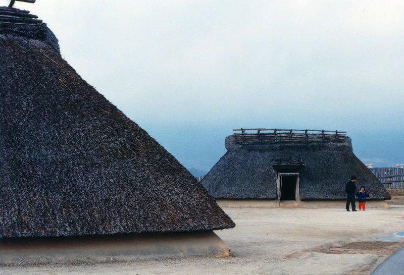Jomon period style of houses