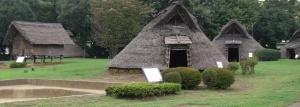 Reconstructed Yayoi village settlement, Otsu village