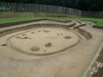 Excavated Yayoi residence, Otsu village