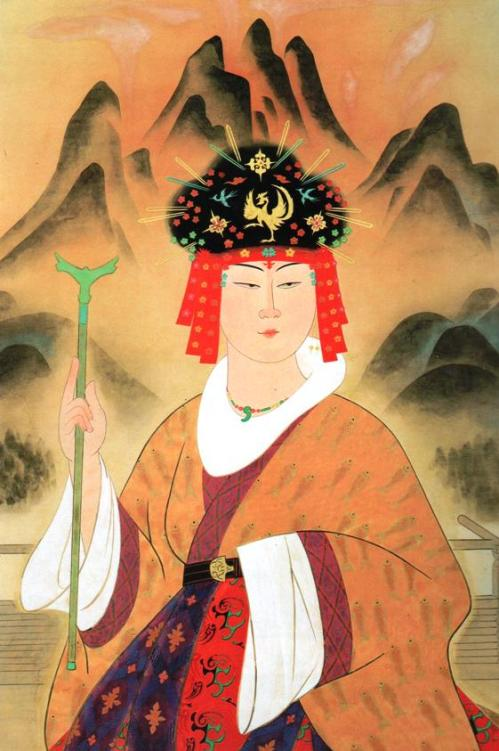 Queen of Yamataikoku Painting by Yasuda Yukihiko  Source: Wikipedia