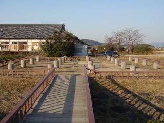 Japan's first water clock (Asuka Historical Museum)