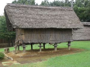 There are a fair number of these storehouses, indicating a prosperous settlement