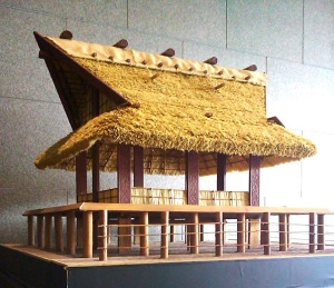 Pile building style of rice granaries expanded for more buildings