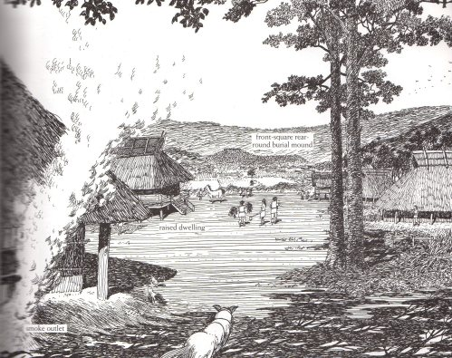 Village life during the ancient burial period (Kazuya Inaba and Shigenobu)