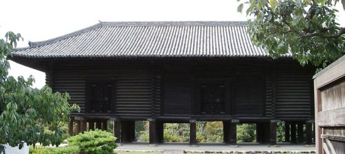 The original building of the Shosoin Repository