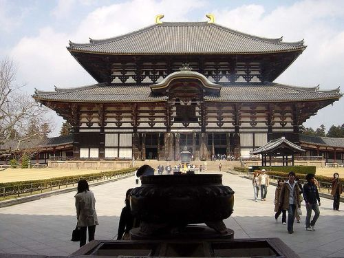 The Great Buddha Hall, Todai-ji (Wikimedia)