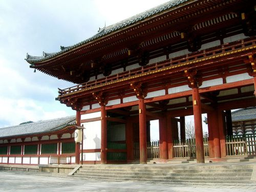 Todai-ji was conceived as the centre of Emperor Shomu's universe