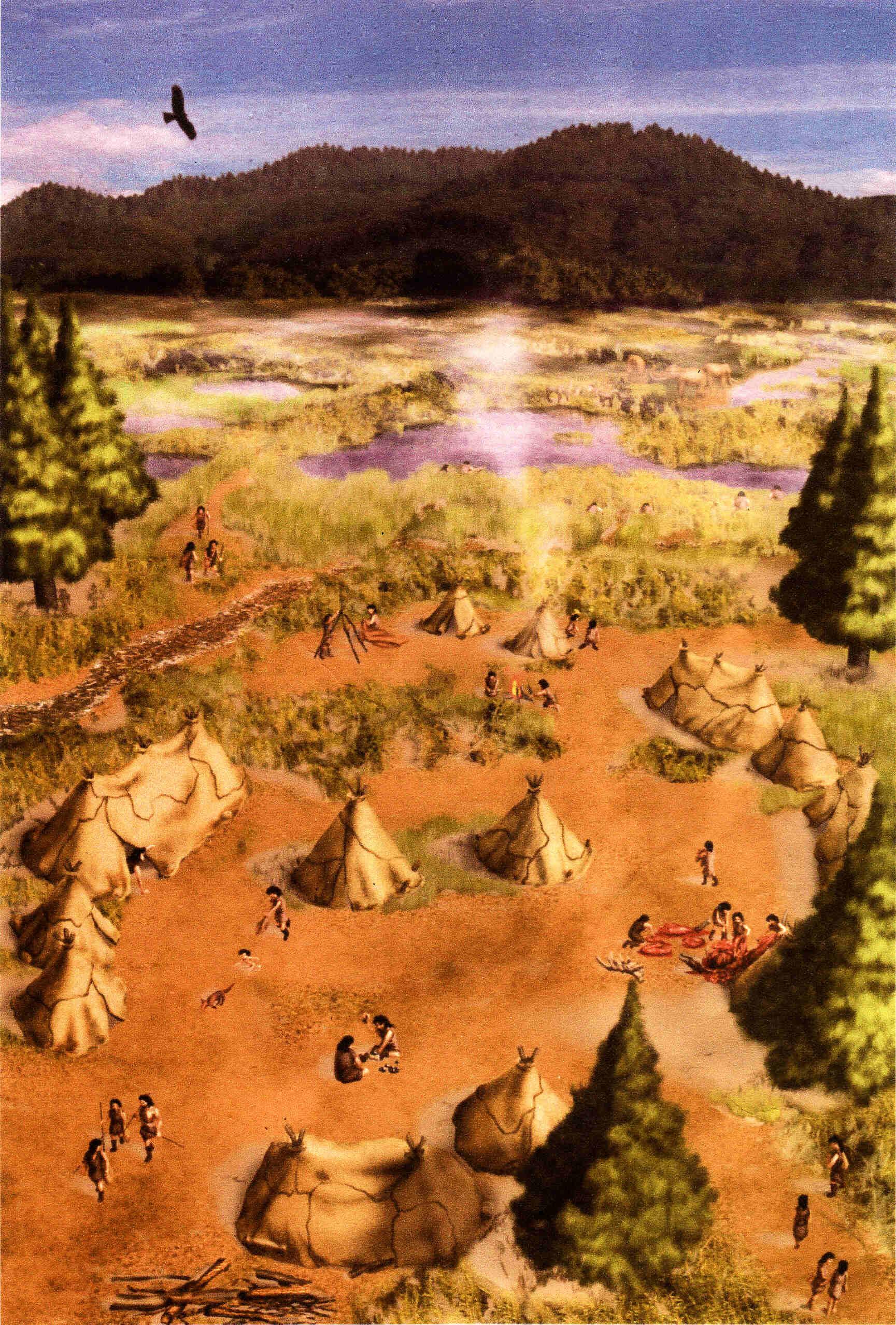 kambayashi iseki what a paleolithic campsite looked like