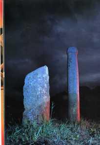 Large stone pillars or henges from the Late Jomon, Kizawa, Nagano prefecture
