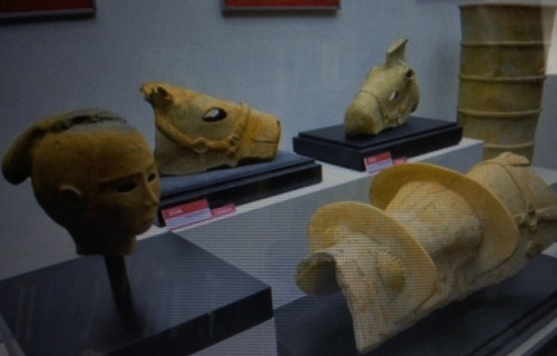 Kofun Period warrior artefacts