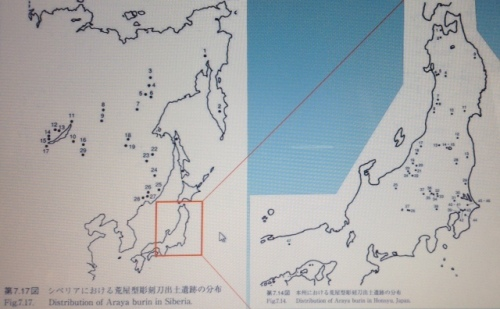 Araya Type of burins of Northeast Asia (Serizawa 2003)