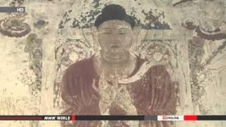 Digitally restored Horyuji painting