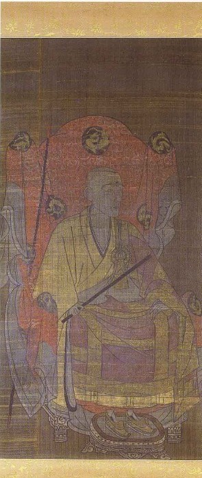 Rankei Doryu, anonymous artist of the late Kamakura or early Muromachi period, http://www.pref.miyagi.jp/