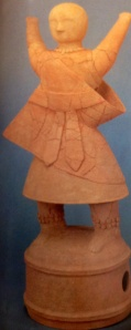 Haniwa of Saiho or Miko virgin maiden before the court