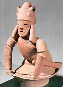 Haniwa of kneeling male, Kofun Period 248-646 Photo: OSU Huntington Archive