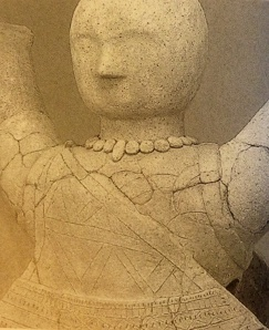Haniwa terracotta of A female attendant of the court