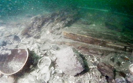13th c. Mongol shipwreck found off Japanese waters (Photo: The Telegraph)