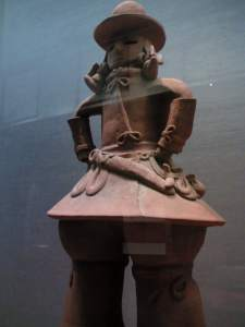 6th c. terracotta of a warrior, Kameyama tumuli, Moka city, Tochigi pref.