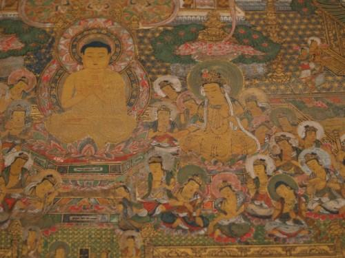 Mandala of Taima detail.