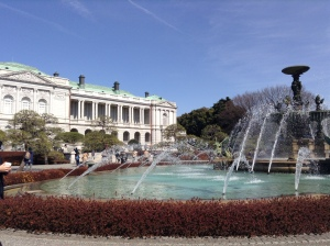 Akasaka (Togu) Palace designed by Katayama Tokuma in 1899, now functions as the State Guest House