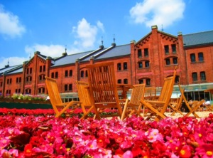 Akarenga redbrick warehouses in Yokohama were completed in the period straddling the Meiji and Taisho periods